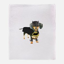 Batdog Throw Blanket