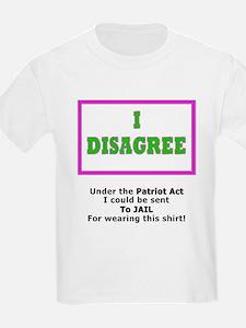 I Disagree Kids T-Shirt