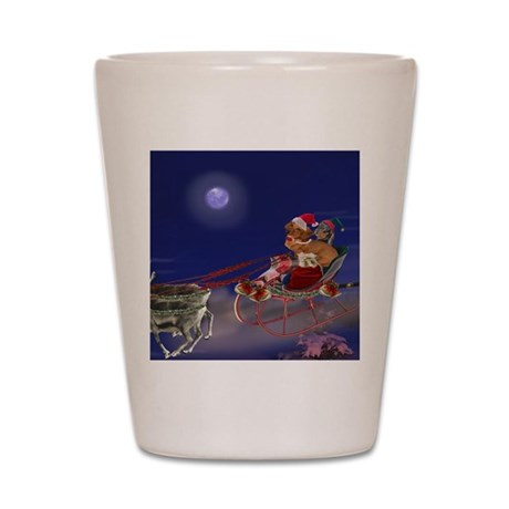 Sleigh Ride Shot Glass