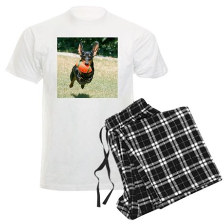 Football Doxie Men's Light Pajamas