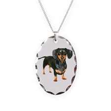 Lily Dachshund Dogs Here Necklace