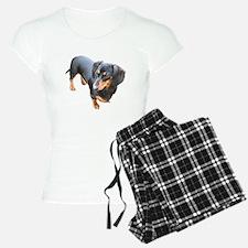 'Lily Dachshund Dog' Pajamas