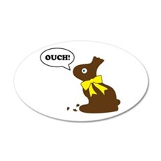 Bunny Ouch Decal Wall Sticker