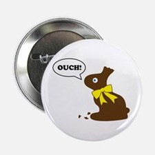 "Bunny Ouch 2.25"" Button"