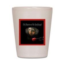 Phantom Doxie Shot Glass