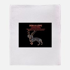 Dox-A-Lope 2 Throw Blanket