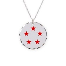 FIVE STAR GENERAL II Necklace Circle Charm