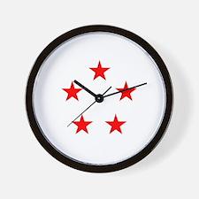 FIVE STAR GENERAL II Wall Clock