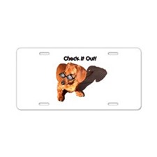 Cute Holidays and occasions Aluminum License Plate