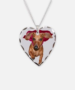 Super Dog Doxies Necklace