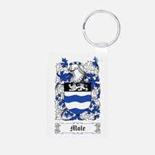 Mole Aluminum Photo Keychain