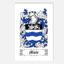 Mole Postcards (Package of 8)