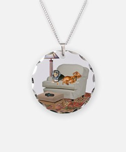 TV Dachshunds Necklace