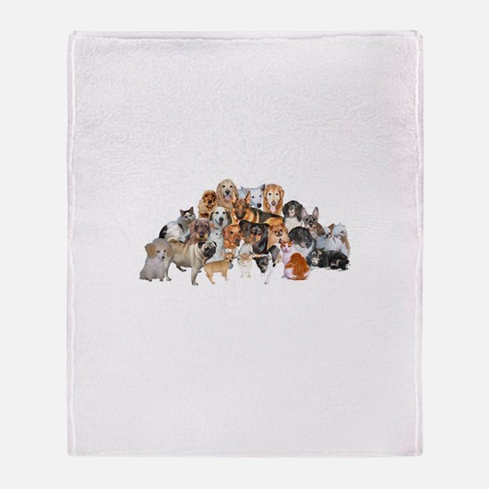 Other Dogs and Cats Throw Blanket