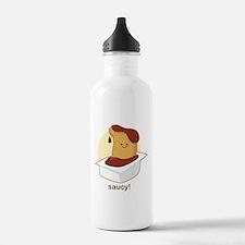 Saucy! Sports Water Bottle