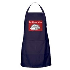 La Dolce Vita - Food and Wine Apron (dark)
