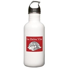 La Dolce Vita - Food and Wine Water Bottle