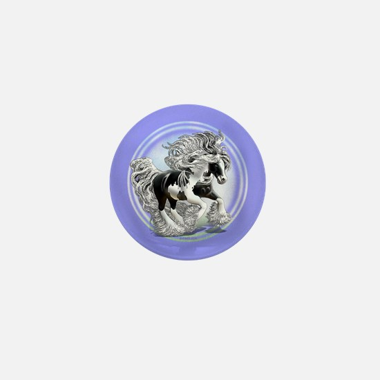 Gypsy Vanner Mini Button