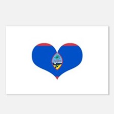 Guam Heart Postcards (Package of 8)