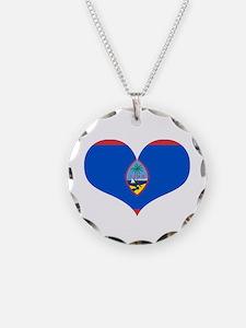 Guam Heart Necklace