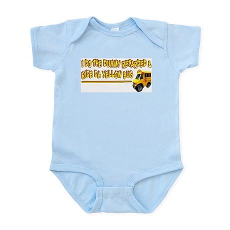 I Ride Da Yellow Bus Infant Creeper