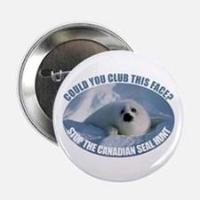 "Canadian Seal Hunt 2.25"" Button"