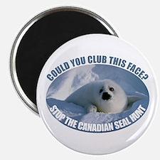Canadian Seal Hunt Magnet