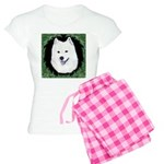Christmas Samoyed Women's Light Pajamas