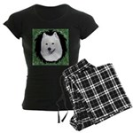 Christmas Samoyed Women's Dark Pajamas