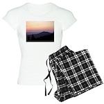Mountain Sunset 2 Women's Light Pajamas