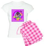 Mini Wirehaired Dachshund Women's Light Pajamas
