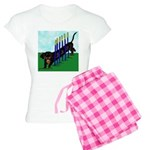 An Agility Dachshund? Women's Light Pajamas