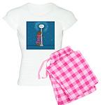 Dachshund Vamp Women's Light Pajamas