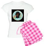 Black and Tan Dachshund Women's Light Pajamas