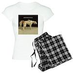 Saluki Best Friends Women's Light Pajamas