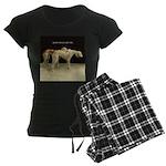 Saluki Best Friends Women's Dark Pajamas