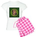 Exquisite Bloodhound Women's Light Pajamas