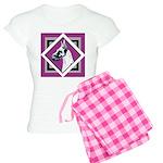Harlequin Great Dane design Women's Light Pajamas