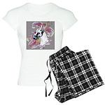 Feminine Harlequin Great Dane Women's Light Pajama