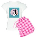 Alpha Siberian Husky Bitch Women's Light Pajamas