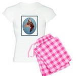 Red Doberman Pinscher Women's Light Pajamas