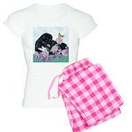 Newfoundland Puppy Women's Light Pajamas