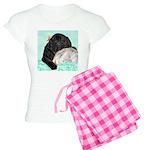 Sleepy Newfoundland Puppy Women's Light Pajamas