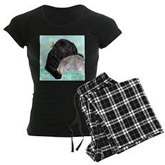 Sleepy Newfoundland Puppy Pajamas