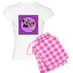 Border Terriers Women's Light Pajamas