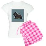Scottish Terrier - Scotty Dog Women's Light Pajama