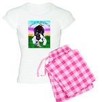 Bowing Boston Terrier Women's Light Pajamas