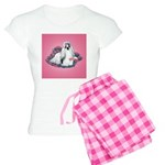 Shih Tzu and Flowers Women's Light Pajamas