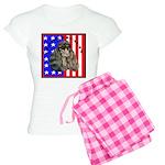 Black Poodle Women's Light Pajamas