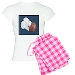 Poodle Pair Women's Light Pajamas